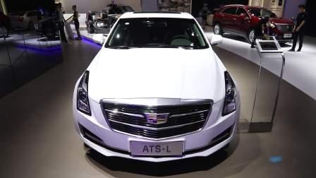 2017广州车展 凯迪拉克 ATS-L闪亮登场