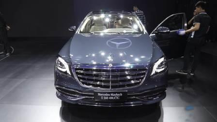 2017广州车展 奔驰迈巴赫 S560 4MATIC