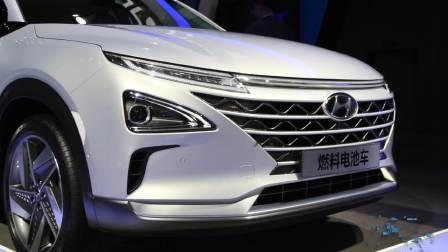 2017广州车展 现代燃料电池车