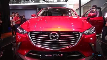 2017广州车展 马自达 CX-3