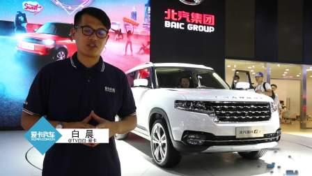 2017广州车展 北汽昌河Q7