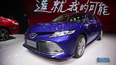 2017广州车展 第八代凯美瑞双擎