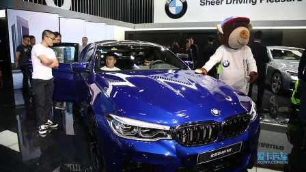 2017广州车展 全新BMW M5