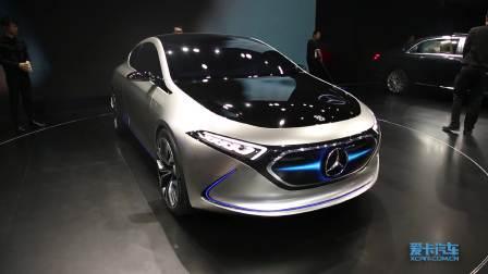 2017广州车展 奔驰EQA概念车