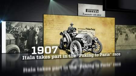 倍耐力110年的赛车发展