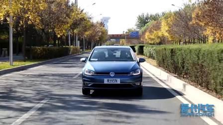 2018款高尔夫 车道保持系统展示