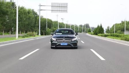 奔驰E级双门 车道保持系统展示