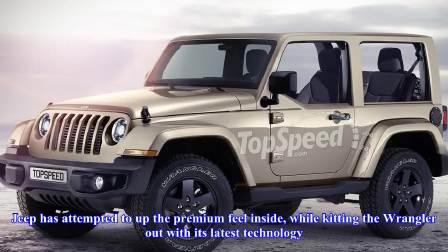 2017洛杉矶车展 Jeep牧马人