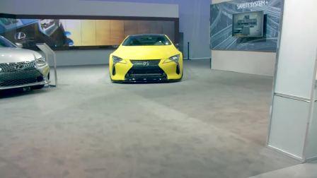 2017洛杉矶车展 雷克萨斯展台