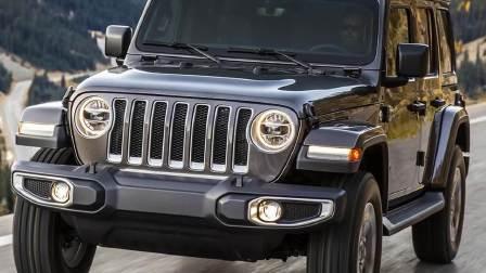 2017洛杉矶车展 全新Jeep牧马人