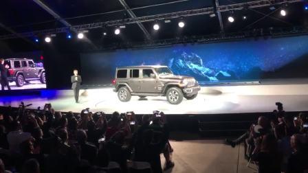 2017洛杉矶车展 Jeep全新牧马人