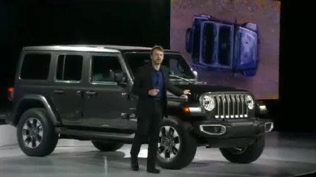 2017洛杉矶车展 解密Jeep全新牧马人
