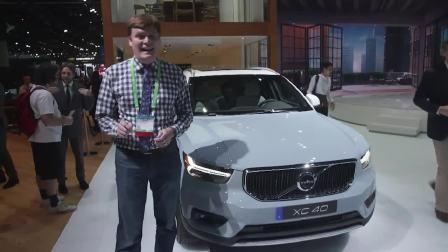2017洛杉矶车展 沃尔沃全新XC40