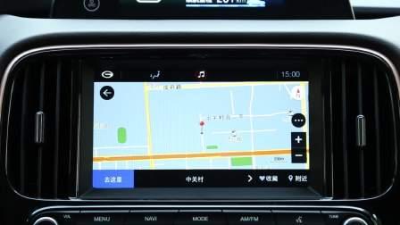 广汽传祺GE3 导航系统展示