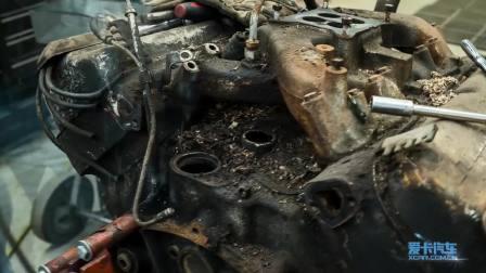 三分钟翻新V8发动机