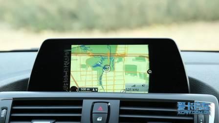 宝马2系敞篷 导航系统展示