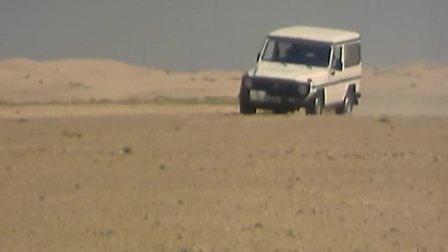 奔驰G级早期穿越沙漠的珍贵影像