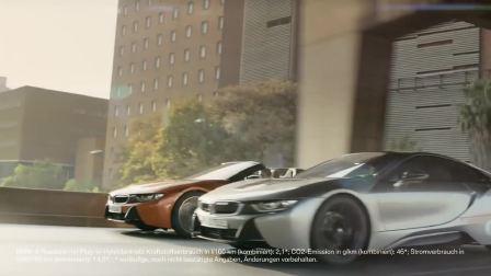 宝马i8 Coupe与宝马i8 敞篷版精彩展示