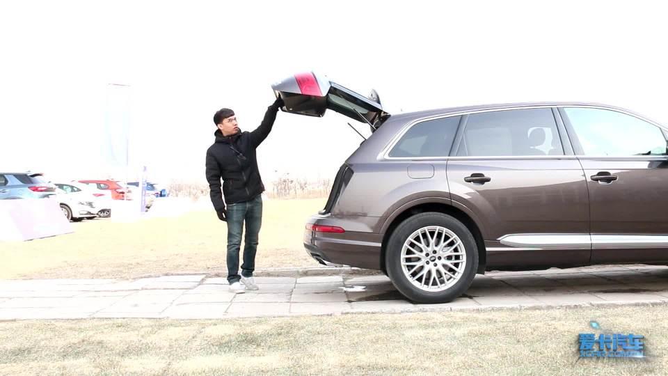 全车功能展示 奥迪Q7功能演示