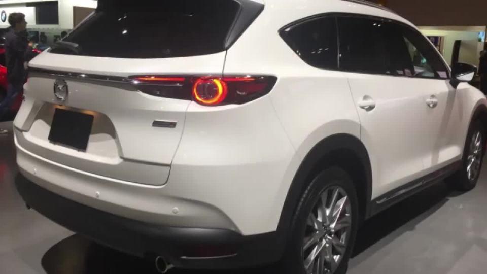 2017东京车展 马自达 CX-8亮相