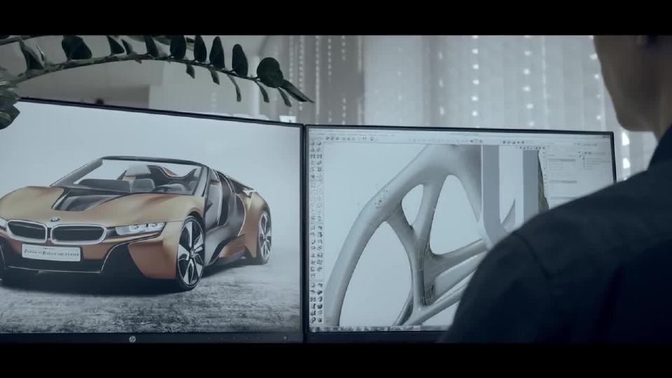 宝马i8运用金属3D打印技术