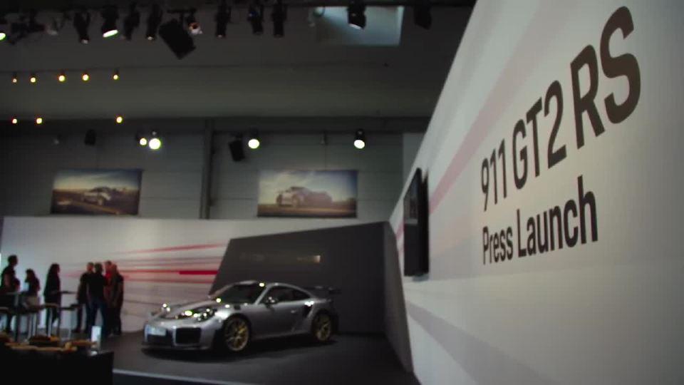 保时捷911 GT2 RS 暴躁低调的超级之王