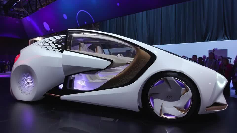 CES 2018汽车科技宣传片