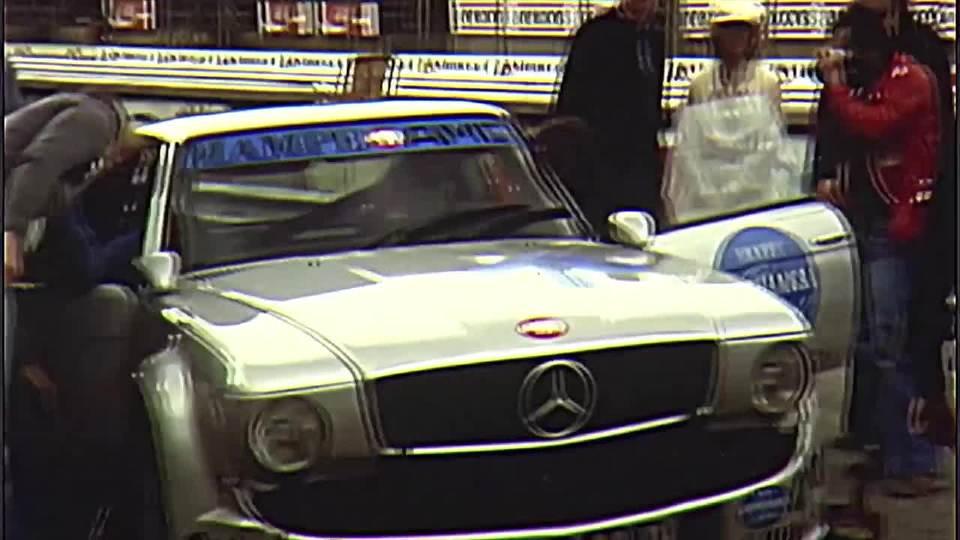 奔驰AMG赛道表现