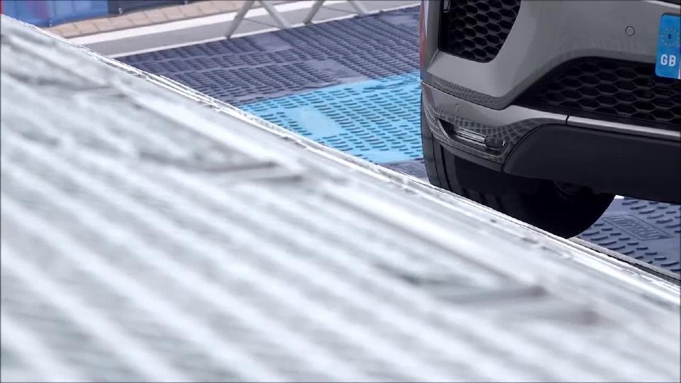 2018款捷豹E-PACE高难度测试