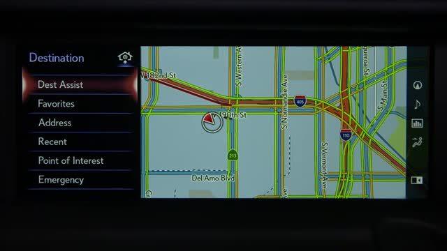 雷克萨斯导航快速设置小技巧