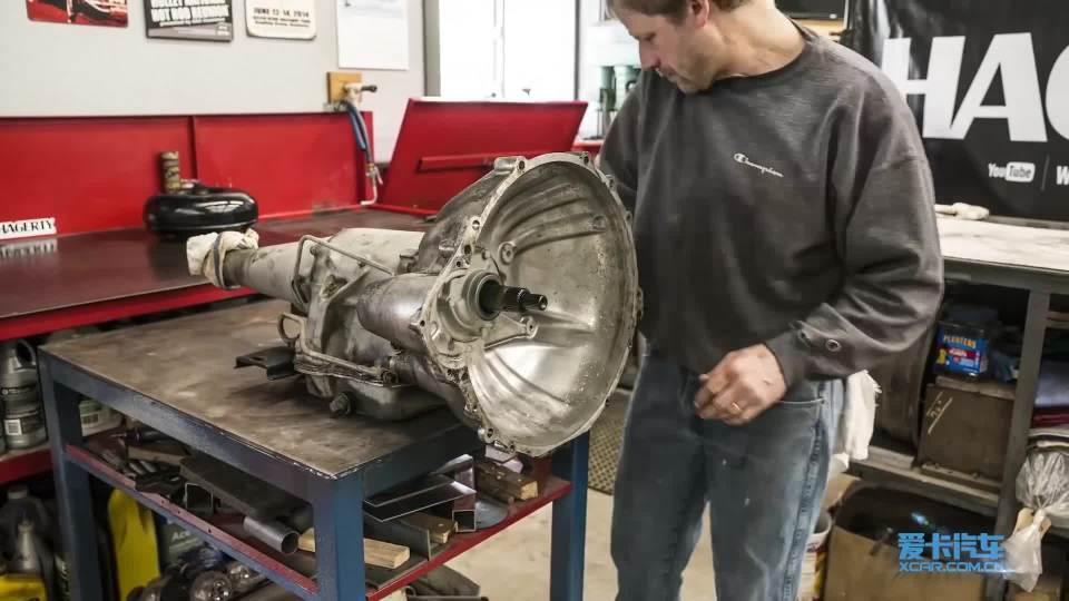 福特雷鸟自动变速箱翻新