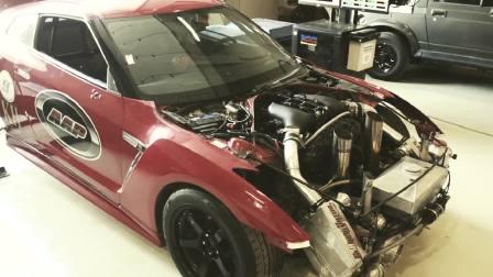 日产GT-R 215英里超速测试