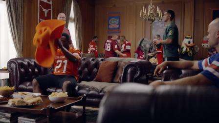 日产创意宣传广告海斯曼家- 阿拉巴马州 vs. 克莱姆森