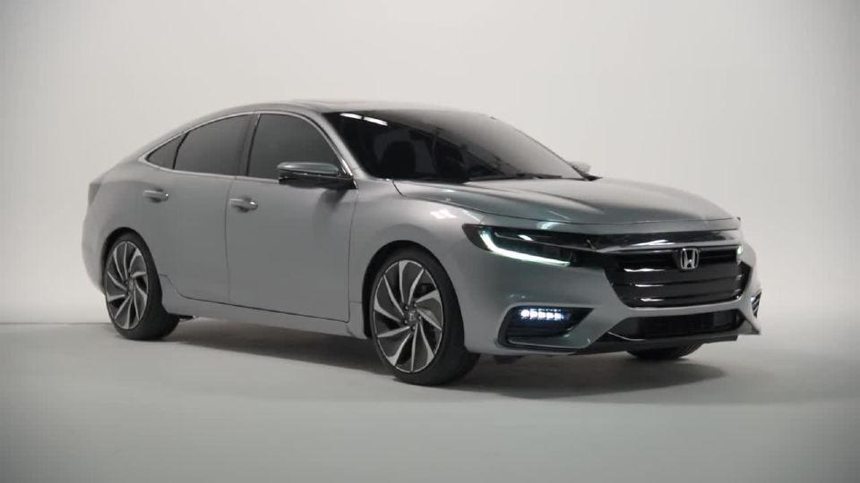 2018北美车展2019本田Insight 混合动力首发