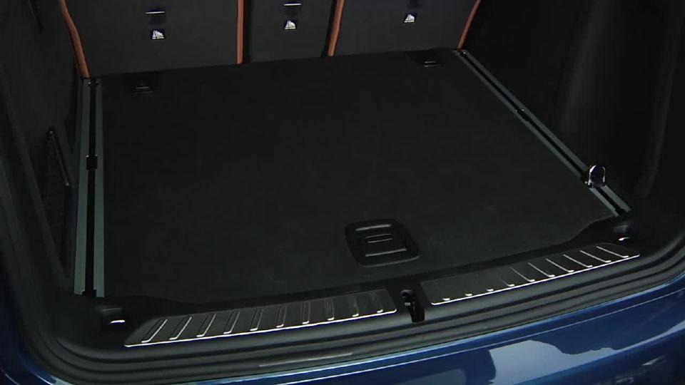 宝马后备箱导轨使用方法展示