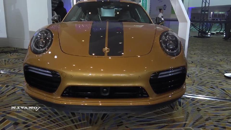2018北美车展 保时捷911 Turbo S 完美解析