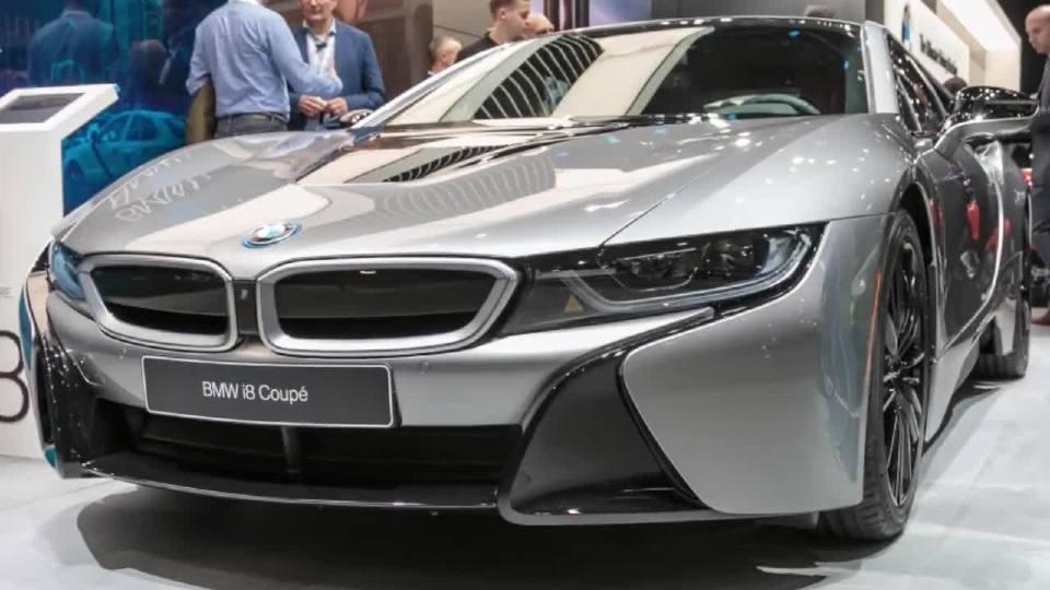 2018北美车展 宝马i8 Coupe与敞篷版抢先亮相