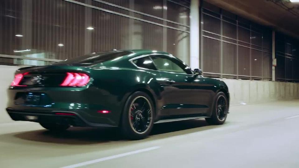 2018北美车展 福特发布Mustang Bullitt致敬经典电影