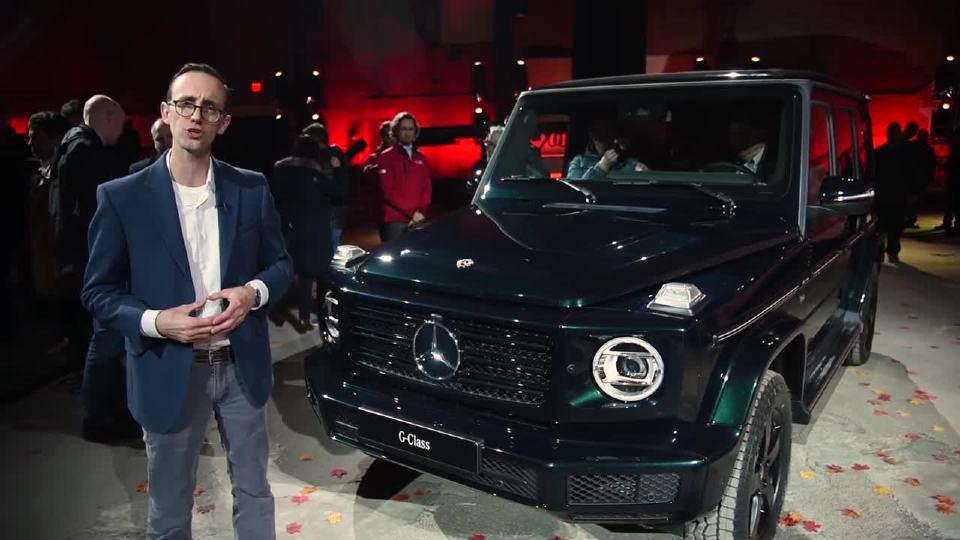 2018北美车展 外媒解读新梅赛德斯奔驰G级