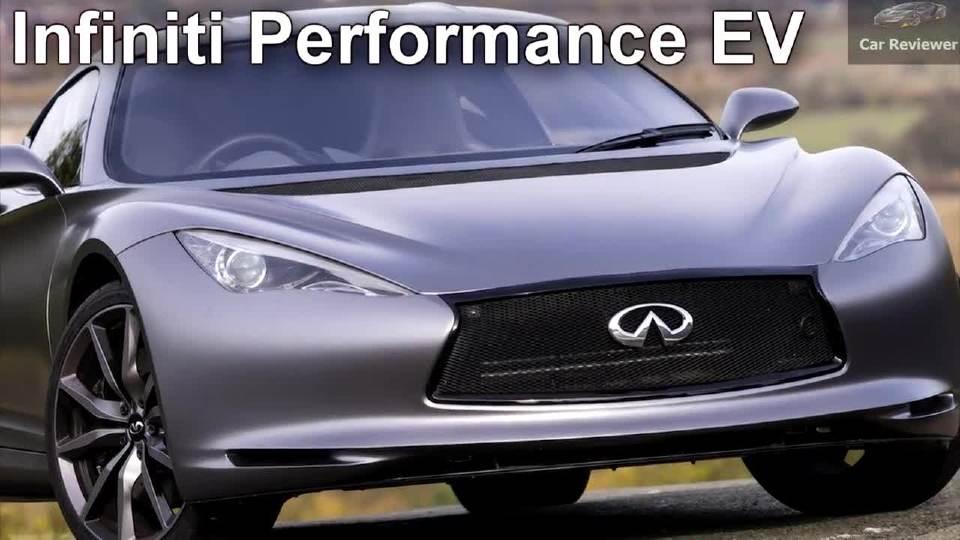 2018北美车展 英菲尼迪高性能电动车首发