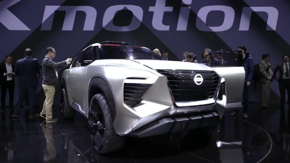 2018年北美车展 令人震惊的日产X motion概念车