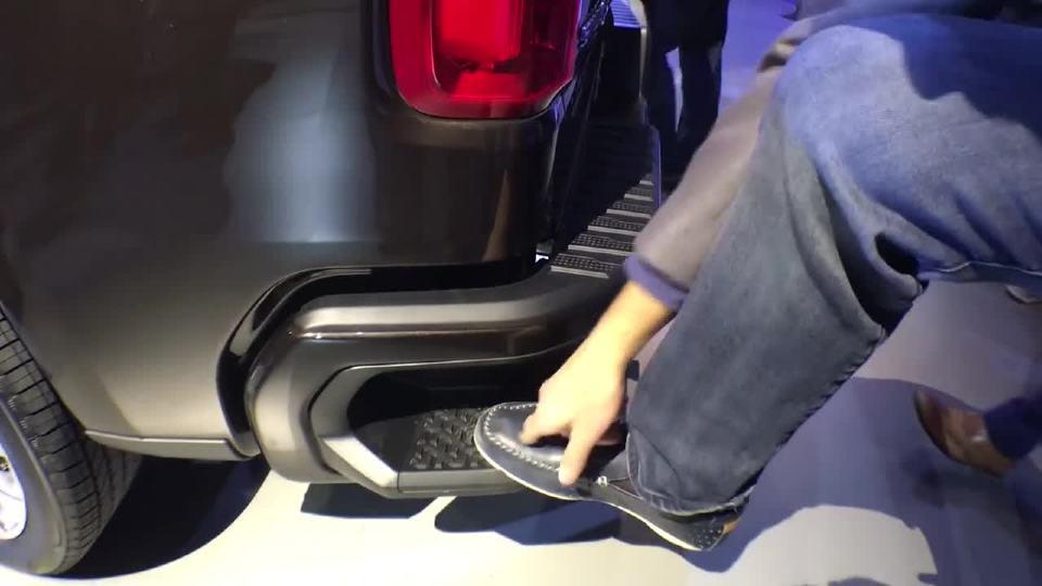 2018年北美车展 实用大皮卡2019款雪佛兰Silverado