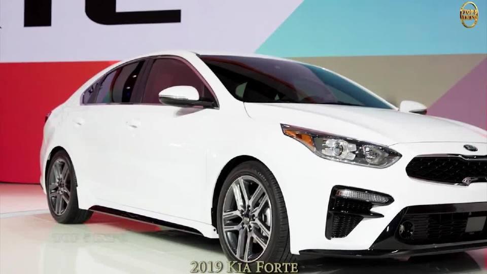 2018年北美车展 2019款起亚Forte抢先看