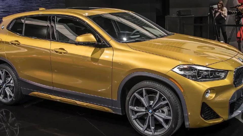 2018北美车展 宝马X2运动紧凑级SUV