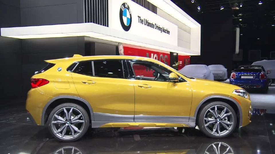 2018北美车展 宝马X2打造最强紧凑级SUV