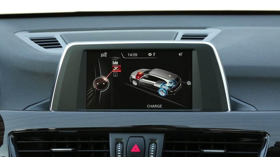 华晨宝马X1混合动力 驾驶模式展示