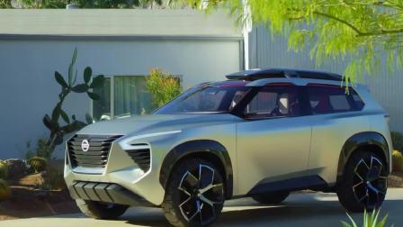 2018北美车展 全新日产XMOTION概念SUV