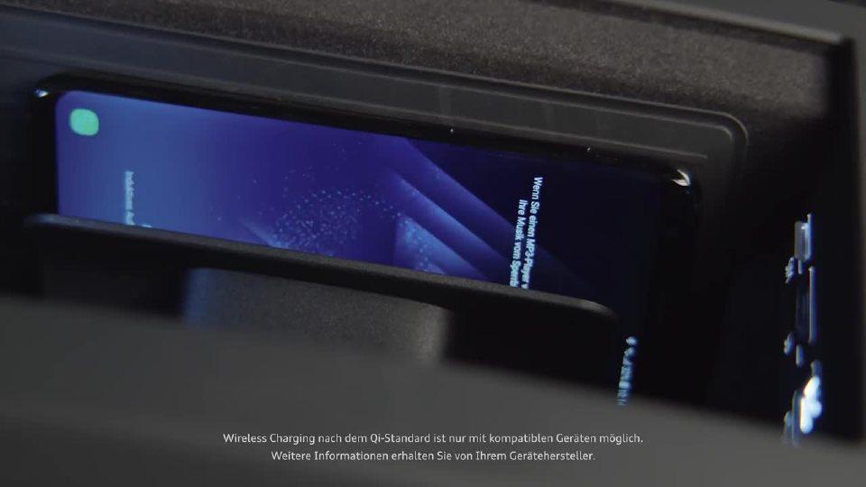 2018奥迪A8车机功能展示