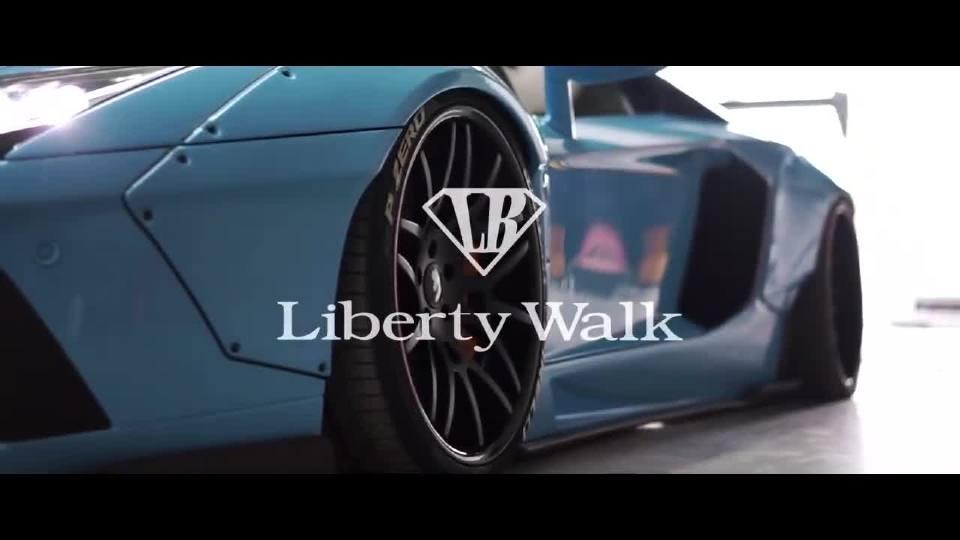 """兰博基尼 Aventador LP700-4 行走在路上的""""杀手"""""""