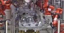 沃尔沃XC90生产线